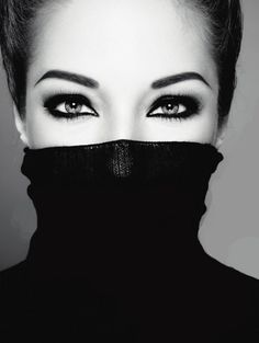 Beautiful expressive eyes ...