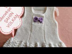 KARNIBAHAR JİLE YAPIMI 1 - YouTube Baby Knitting Patterns, Knitting Stitches, Crochet Baby, Knit Crochet, Baby Cardigan, Crochet Videos, Baby Dress, Baby Kids, Summer Dresses