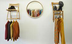 olive green anna: Vintage Pop Up Shop Displays, Vintage Clothing, Vintage outfit, ehemalige Feuerwache Heidelberg