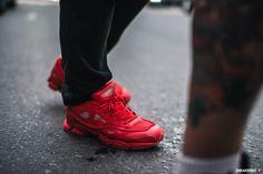 """Raf Simons x adidas Ozweego 2 """"Red"""""""