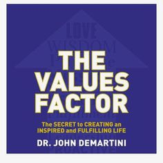 Great read. Would strongly recommend #values #inspiration #positivity #johndemartini #success #corevalues