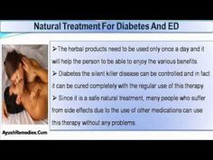 This video describes about safe natural treatment for diabetes and ed problem.