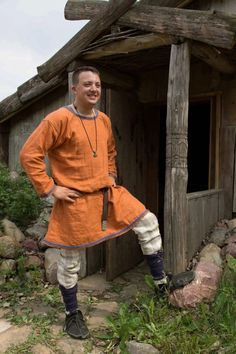 Men's HibernoNorse Irish Viking Tunic by HeddlesandTreadles, $80.00