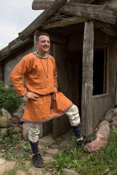 Men's HibernoNorse Irish Viking Tunic by HeddlesandTreadles, $80.00