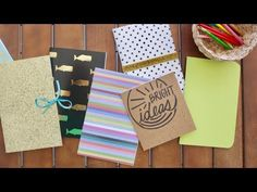 How to Sew a Book - 7 Easy Ways - YouTube