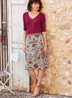 c824156542 Anjuna Pima Cotton A-Line Skirt - Skirts & Pants - Peruvian Connection
