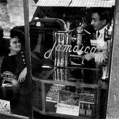 Italian Vintage Photographs ~ #Italy #Italian #vintage #photographs ~ Milan Italy 1950s ~ Photo: Ugo Mulas