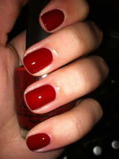 OPI got the blues for red. Potential dupe for Nars' Chinatown