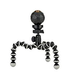 cool JOBY GorillaPod Hybrid Tripod for Mirrorless and 360 Cameras - A Flexible, Portable and Lightweight Tripod With a Ball Head and Bubble Level