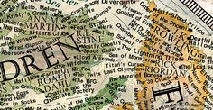 Martin Vargic's intricate cartography is basically porn for book lovers.