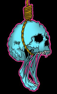 In a room with a noose and a chair by on DeviantArt – Graffiti World Graffiti Drawing, Graffiti Art, Art Drawings, Trippy Wallpaper, Skull Wallpaper, Arte Zombie, Posca Art, Trippy Painting, Stoner Art