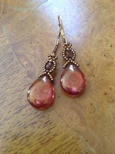 A personal favorite from my Etsy shop #earringsdiy