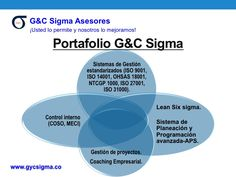 Portafolio G&C Lean Sigma Lean Six Sigma, Chart, Project Management, Products, Hipster Stuff, Management