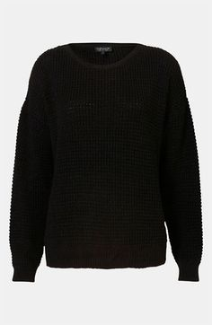 Topshop Textured Knit Sweater | Nordstrom