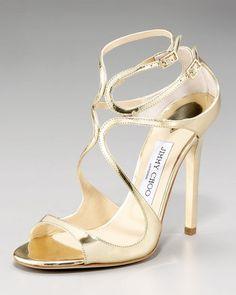 Jimmy Choo Wavy Strap Sandal