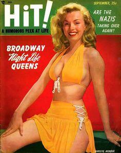 Marilyn Monroe Hit Cover - www.MadMenArt.com | Actress, model, singer and major…