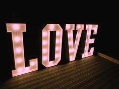 4ft illuminated LOVE