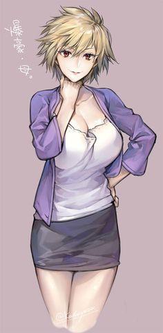 Bakugo mother, nice