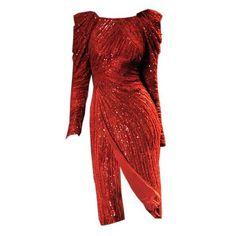 elie saab edited by metalheavy ❤ liked on Polyvore featuring dresses, gowns, elie saab, edit, red dress and elie saab dresses