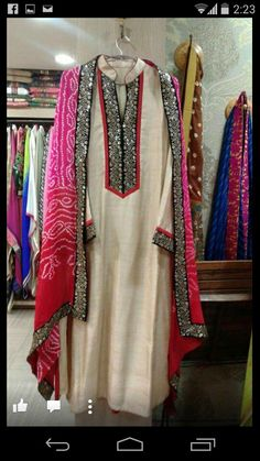Mix match duppata Kurta Designs Women, Salwar Designs, Blouse Designs, Indian Attire, Indian Wear, Indian Outfits, Pakistani Dress Design, Pakistani Dresses, Indian Designer Suits