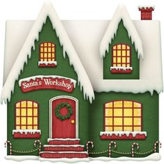 The Stunning Christmas Front Door Clipart and Best 25 Santas Workshop Ideas On Home Design Office Christmas 73206 is among photos of decorating concepts fo Christmas Front Doors, Christmas Door Decorations, Christmas Yard, Office Christmas, All Things Christmas, Christmas Holidays, Christmas Crafts, Christmas Clipart, Christmas Printables