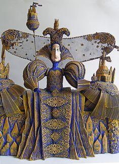 Russian dollmaker Lada Repina