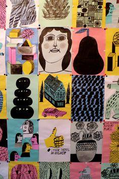 Paper Installation by Norfolk Oak, via Flickr
