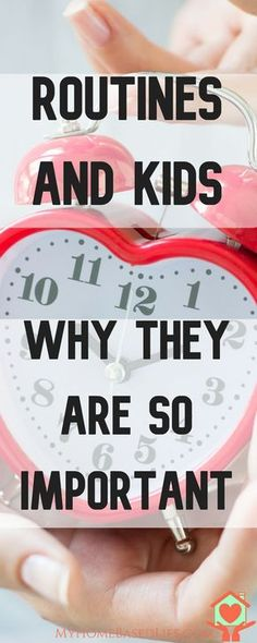 How Routines in Children Can Be Significantly Life Altering via @myhomebasedlife