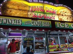 all the food at the state fair...
