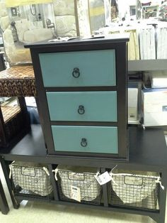 Great drawer unit to use as a nightstand or end table. On the bottom is a wonderful entry area bench. Or even a place for childrens toys.