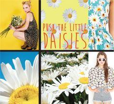 Daisies 90's fashion trend