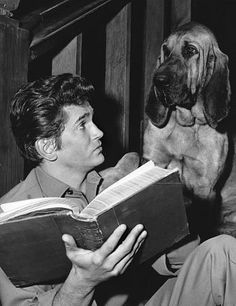 """Bonanza"" Michael Landon in ""Hound Dog"" 1965"