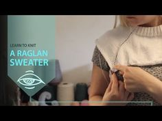 "WATCH How To KNIT ""RAGLAN PART"" 4 Simple Raglan Sweater part 1/3 - (4Righties) - YouTube"