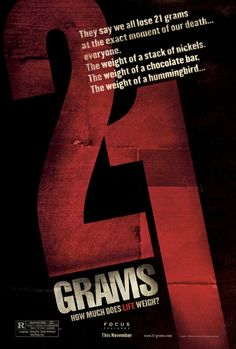 21 Grams. 21克--生命可以有幾重