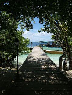 Jetty, Embudu, Maldives