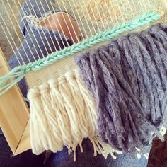natural fiber weaving