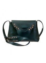 architectonisch concept zadeltas vrouwen tas messenger bag