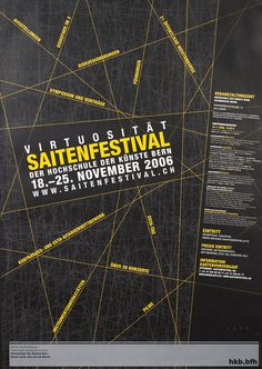 Virtuositat Saitenfestival by Artist Unknown | Vintage Posters at International Poster Gallery