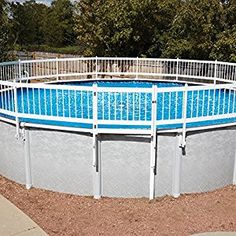 Above Ground Pool Fence Diy 1 2inch Pvc Pipe And White Pvc