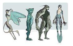 Nubrian Concepts 1 by Rikona.deviantart.com on @deviantART