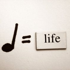 I live life a quarter note at a time (I know, that's terrible) >>> Hahah, that's cute:)