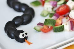 Sneaky snakes! Healthy Halloween Treats - ParentMap