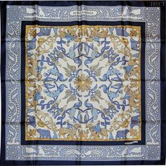 """Early+America+(from+<a+href=""""http://piwigo.hermesscarf.com/picture?/2645/search/15832"""">HSCI+Hermes+Scarf+Photo+Catalogue</a>)"""