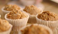 Nigella Lawson chai muffins recipe with almond milk and chai tea on Simply Nigella