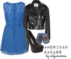 """American Badass"" by vulgarwoman on Polyvore"