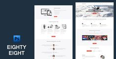 Discount Deals EightyEight - Multi Purpose PSD TemplateThis site is will advise you where to buy