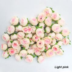 Artificial Flowers Light Pink Colors Roses Silk Flower Head Arrangement Wedding Party Decorative Hot Sale From Daydayonline3, $7.32 | Dhgate.Com