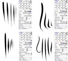 Image result for sai lineart brush