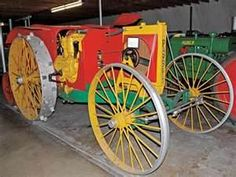 Here is a Parrertt gas tractor made between 1918 & 1920 rated at 12-25 it used a four cylinder engine with a 4.1/4 bore and 5.1/2 inch stroke in 1918 it sold for $1,450