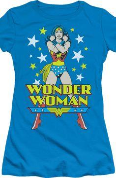 Posing Wonder Woman Shirt: DC Comics Licensed Wonder Woman T-Shirt